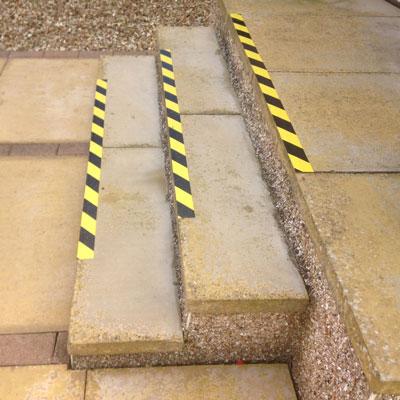 hazard-marked-stairs